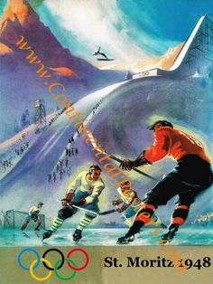 1948 Olympic Winter games St Moritz