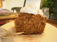 Gingerbread Cake with Lemon Glaze ~ What's Cookin' in the Parsonage?   RefreshHer