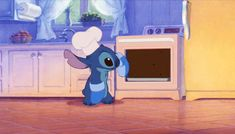In Lilo & Stitch, when Stitch pulls the perfectly fitting cake out of the oven: Here Are 17 Of The Most Oddly Satisfying Disney Scenes That You Can't Help But Rewatch Disney Gifs, Disney Pixar, Walt Disney, Disney E Dreamworks, Disney Animation, Disney Love, Disney Magic, Disney Characters, Animation Storyboard