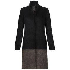 Strand Crombie Coat ($495) ❤ liked on Polyvore