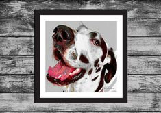 Dog Pop ART  PRINT  Great Dane  painting drawing by KirianGallery