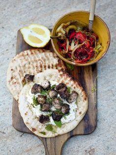 Souvlaki | Pork Recipes | Jamie Oliver Recipes