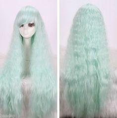 Lolita Popular Gentle Bohemian Ear of Corn Fluffy Curly Wig | eBay