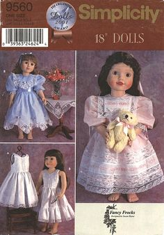 Free Copy of Pattern - Simplicity 9560
