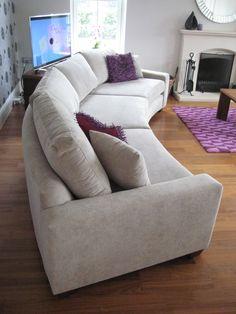 Bespoke 370 Cm Curved Sofa