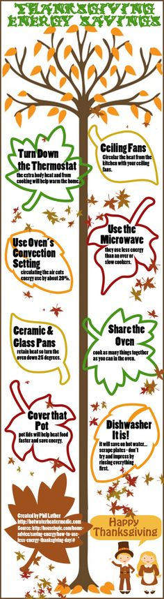 Thanksgiving #Energy Saving Tips