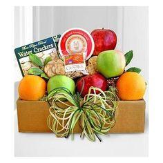 Fruit Baskets California Sunshine Fresh Fruit & Cheese