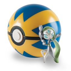 "2"" Meloetta Clip 'n' Carry Poké Ball"