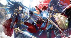 Happy Lucina day! Official cipher art by Yusuke Kozaki : FireEmblemHeroes