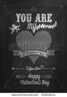 Stock Images similar to ID 171334697 - happy valentine's day hand...
