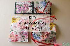 Sara's Code: Blog de Costura + DIY: DIY 4 accesorios de viaje para regalar estas navidades