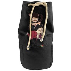 Karset Dan And Phil Vertical Bucket Cylindrical Shaped Canvas Beam Port Drawstring Sports Basketball Shoulders Backpack Bags *** Check out the image by visiting the link. #GymBags