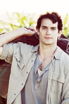 Henry Cavill I cannot handle the hott.
