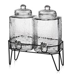 Mint Pantry Peony 3 Piece Beverage Dispenser Set