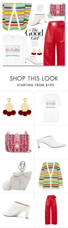 """Top Fashion Products Outfit of the Day 3/5/18"" by jgee67 on Polyvore featuring Elizabeth and James, Rosie Assoulin, Valentino, Stuart Weitzman, Loewe, Carmen March, polyvoreblogger and polyvoreeditorial"