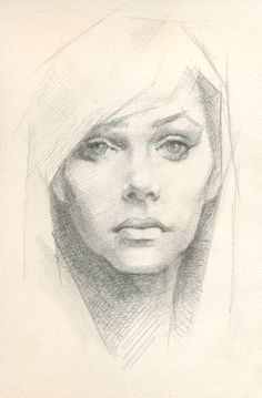 Pencil Sketch, Jeff Haines