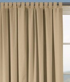 tab top curtains with buttons