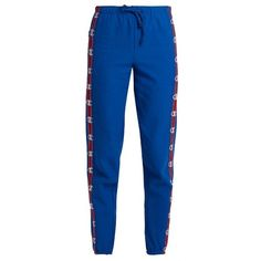 Vetements X Champion cotton-blend track pants Cl Fashion, Tomboy Fashion, Sport Fashion, Blue Trousers, Blue Pants, Sweat Pants, Joggers, Bad And Boujee Outfits, Outfits