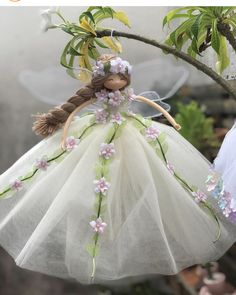 Girls Dresses, Flower Girl Dresses, Fairy Dolls, Fairies, Victorian, Wedding Dresses, Flowers, Christmas, Fashion