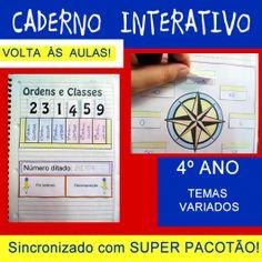 Código 525 Caderno interativo - 4º ano - volta às aulas
