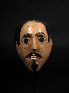 Juan Negrito mask, Guerrero, Mexico