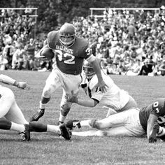 """Football Game, 1966"" - To learn more, visit the Ball State University Campus Photographs in the Ball State University Digital Media Repository.  Copyright 2006, Ball State University. All rights reserved."