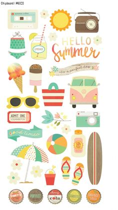 Spring 2015 Reveal Day 1 - Summer Vibes | Simple Stories