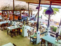 The Nature Beach Resort in Koh Chang, Thailand has a kickin' waterfront restaurant! Thailand Resorts, Beach Resorts, Koh Chang, Beautiful Places To Live, Waterfront Restaurant, Nature Beach, Restaurants, Scenery, Elephant