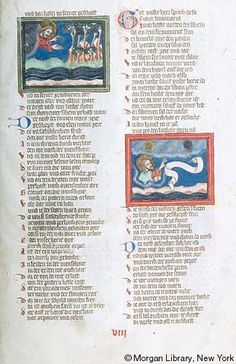 Weltchronik, MS M.769 fol. 8r - Images from Medieval and Renaissance Manuscripts - The Morgan Library & Museum