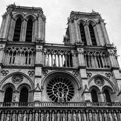The stunning towers of notredame notredamecathedral paris france hunchbackofnotredame
