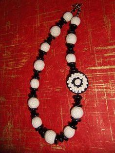 Custom polymer  necklace