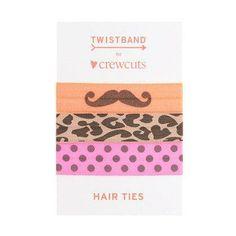 Twistband® for J.Crew print hair ties.