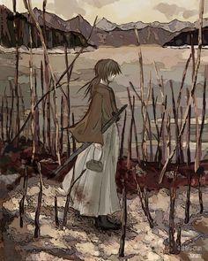 Rurouni Kenshin by nanami-yuki Rurouni Kenshin, Kenshin Anime, Era Meiji, Corpse Party, Manga Anime, Anime Art, Kenshin Le Vagabond, Nanami, Manga Games