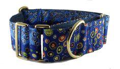 Klimt Print Dog Collar