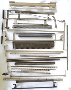 1926 Woodstock Typewriter Parts~art~craft~steampunk~gear~key~lever~striker~Lot2