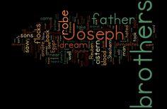 Genesis 37 (NIV) - The Bible in Wordle Form
