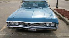 '67 Chevy Impala 4-door. Found in Stigler, Oklahoma. Tripper's Travels.