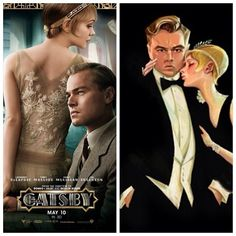 The Great Gatsby (2013) | Two of my most popular pins at Everything #Gatsby.
