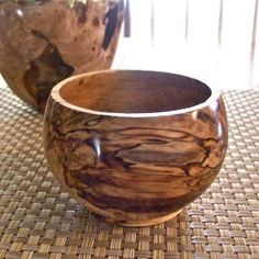 Wood Bowl Highly Spalted White Birch Wooden by exoticwoodgifts