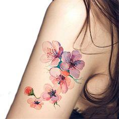 15+ Wonderful Watercolor Orchid Tattoo Ideas