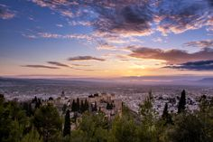 Photograph Alhambra and Granada Sunset - Spain by Daniel Nahabedian on 500px