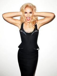 Gwen Stefani-love her, if I could b anyone it'd b her!