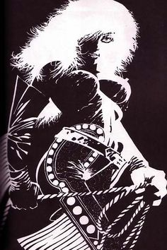 Nancy, from the graphic novel, Sin City.
