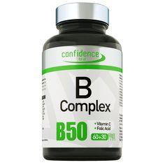Τι είναι;  To B-complex της Confidence είναι ένα συμπλήρωμα διατροφής που συνδυάζει σύμπλεγμα βιταμινών Β, φολικό οξύ και βιταμίνη C, συστατικά που παίζουν βασικό ρόλο σε πληθώρα διαδικασιών στον οργανισμό.  Πιο συγκεκριμένα το B-com... Vitamin C, Confidence, Self Confidence