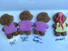 Zombie gingerbread