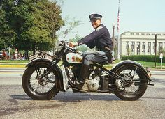 Indiana State Police Indian Motorcycle
