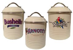 Canister Arnotts Bushells Rosella | eBay   - Explore the World with Travel Nerd Nici, one Country at a Time. http://TravelNerdNici.com