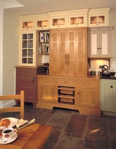 Oak housekeepers cupboard
