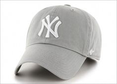 New York Yankees 47 Brand Gray Franchise Fitted Hat - Detroit Game Gear Yankees Hat, Yankees Logo, New York Yankees, Twins Baseball, Baseball Cap, Baseball Games, Baseball Records, Baseball Jackets, Baseball Display