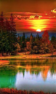 Landscape Sunset Nature Photography 31 Ideas For 2019 Beautiful World, Beautiful Images, Beautiful Beautiful, Beautiful Sunrise, Nature Scenes, Amazing Nature, Amazing Art, Nature Photos, Pretty Pictures